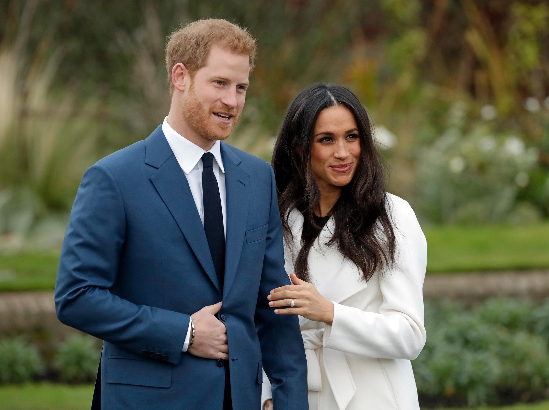 Prins Harry och Meghan Markle. (Arkivbild)