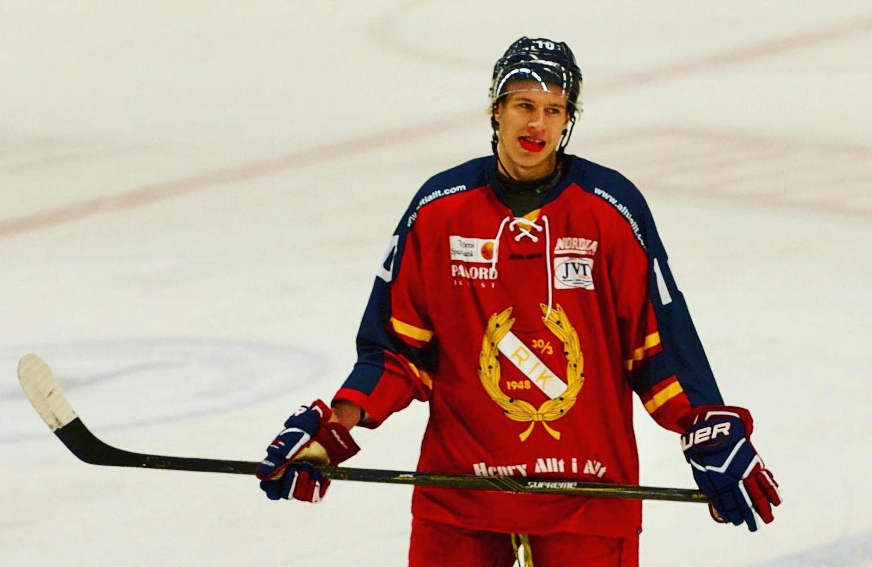 Caleb Eefting i Rönnäng, division 3.