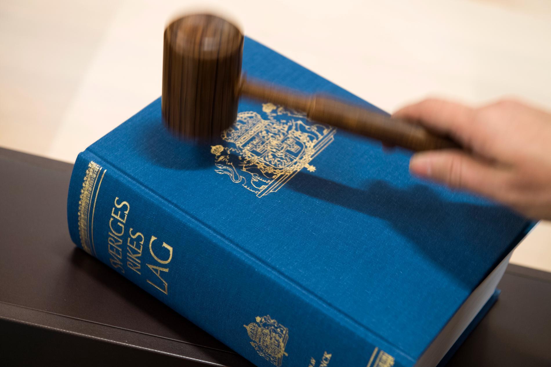 Två män döms för ett uppmärksammat mord utanför Uddevalla för ett år sedan. Arkivbild.