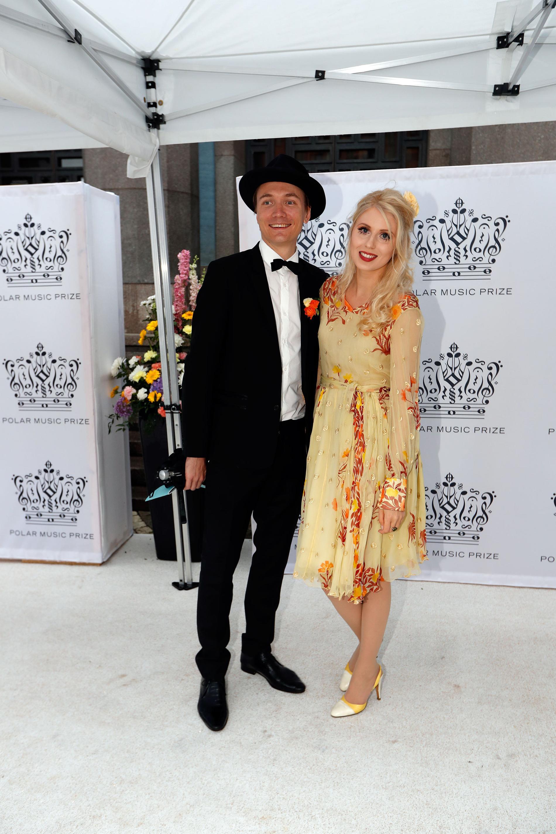 Amanda Jensen och Nic Schröder.