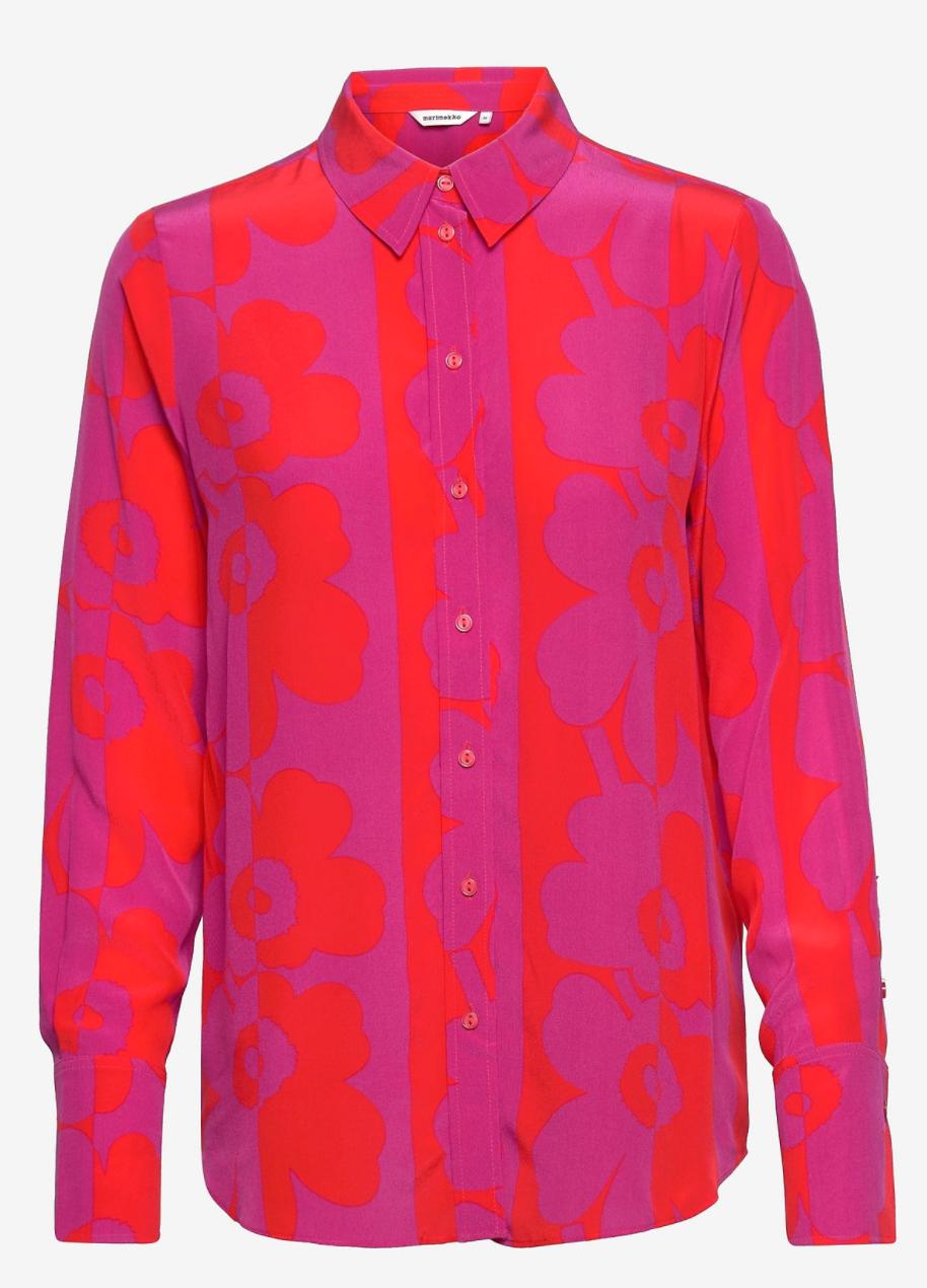 Unikko mönstrad skjorta från Marimekko