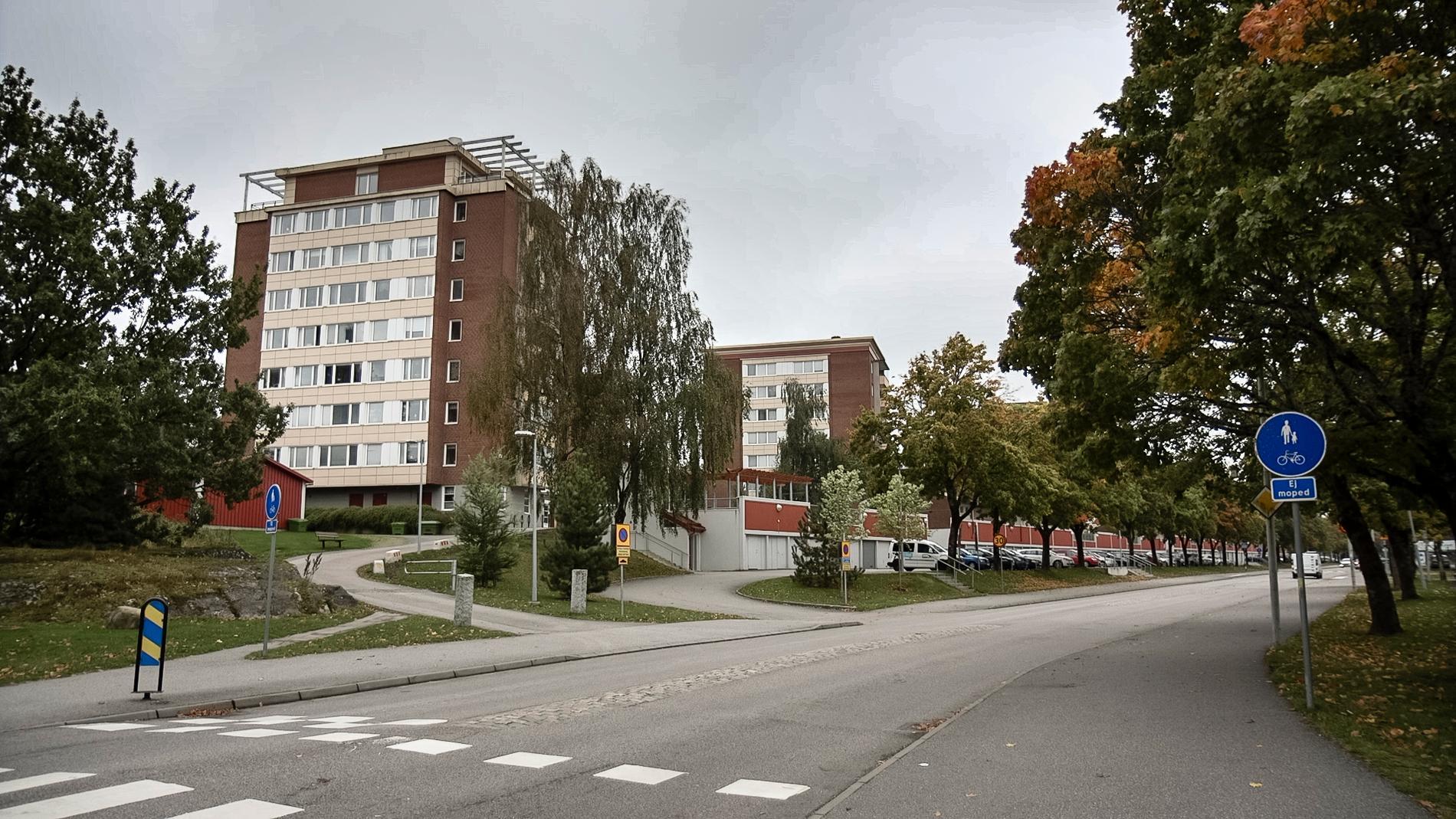 Kronogården, där Kronanskolan ligger, är ett av polisens utsatta områden.