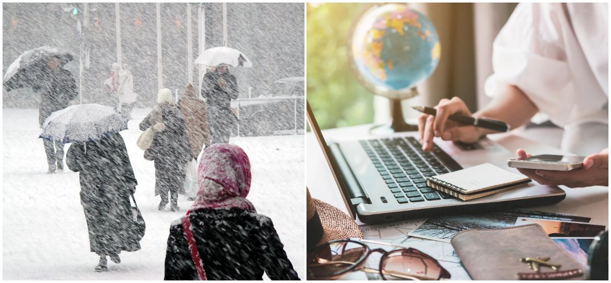 Ving ser en snö-effekt på vinterbokningarna.