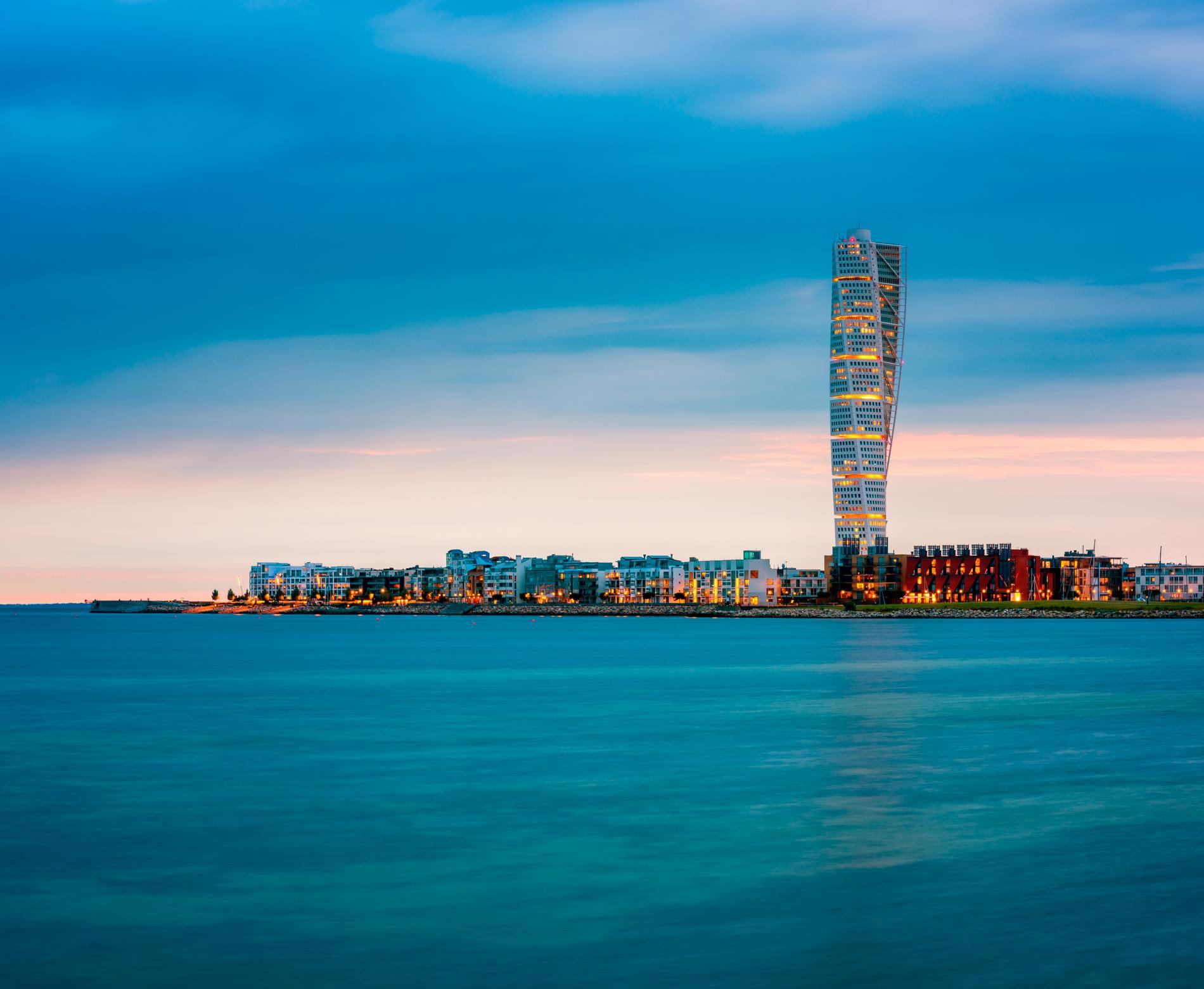 Nordens högsta skyskrapa ligger i Malmö.