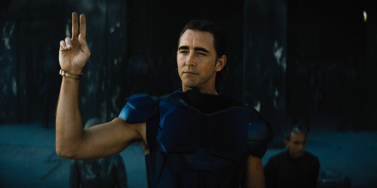 """Lee Pace i """"Foundation""""."""