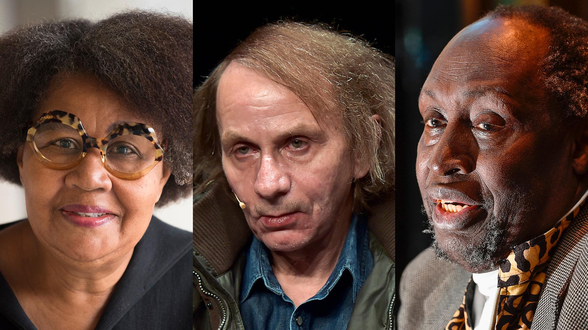 Jamaica Kincaid, Michel Houellebecq och Ngũgĩ wa Thiong'o är några av de författare som finns med i förhandsspekulationerna kring Nobelpriset i litteratur.