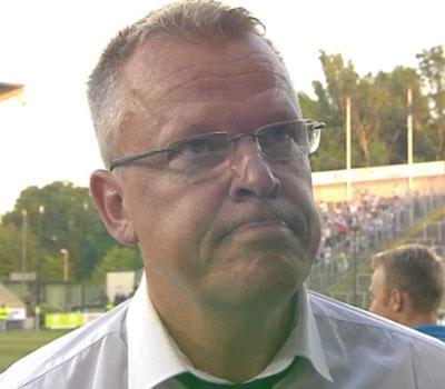 Norrköpings tränare Janne Andersson var besviken.