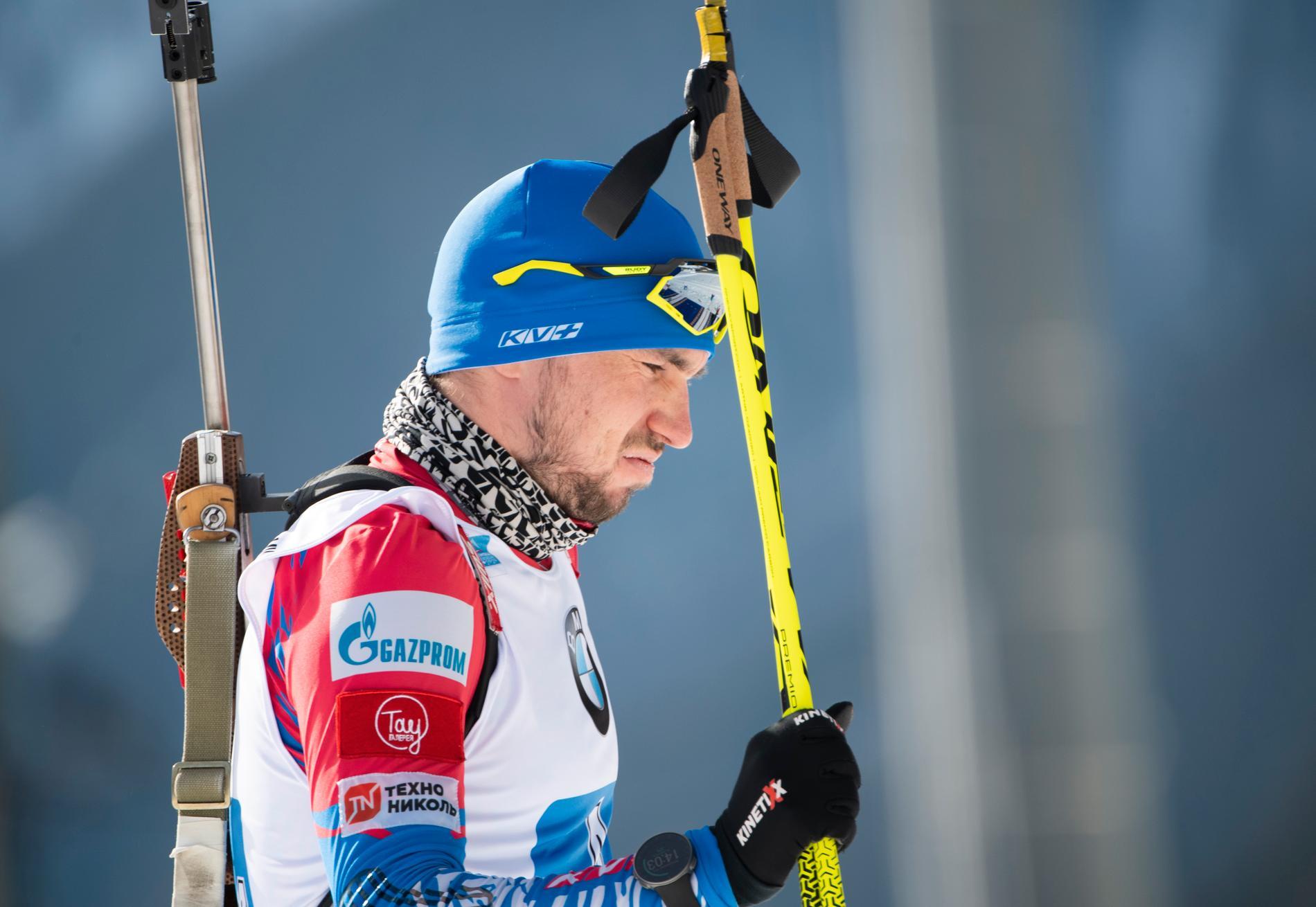 Rysslands Alexander Loginov kommer inte till start i masstarten, skriver Tass.