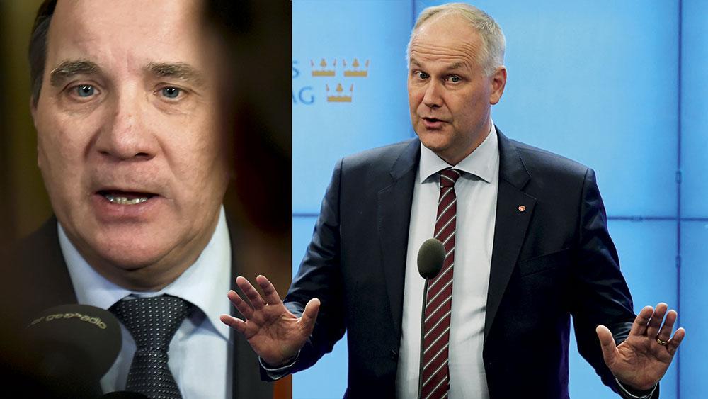I Löfvens nya regering skräddarsys politiken för de rika, för de stora företagen och för bankerna. En politik som kommer att öka otryggheten och klyftorna i Sverige, skriver Jonas Sjöstedt.