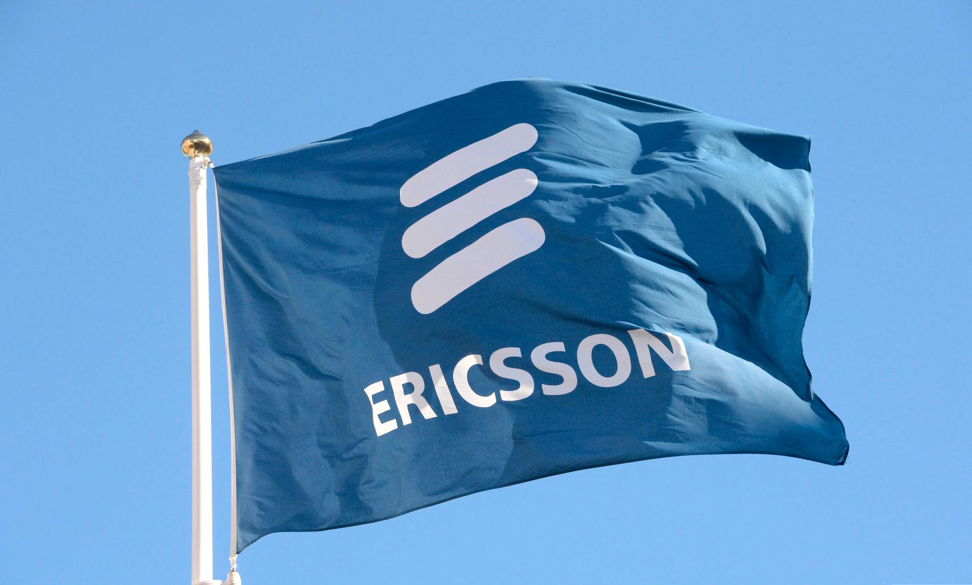 Telekomjätten Ericsson gör det obligatoriskt för de anställda att bära ansiktsmask på jobbet. Arkivbild.