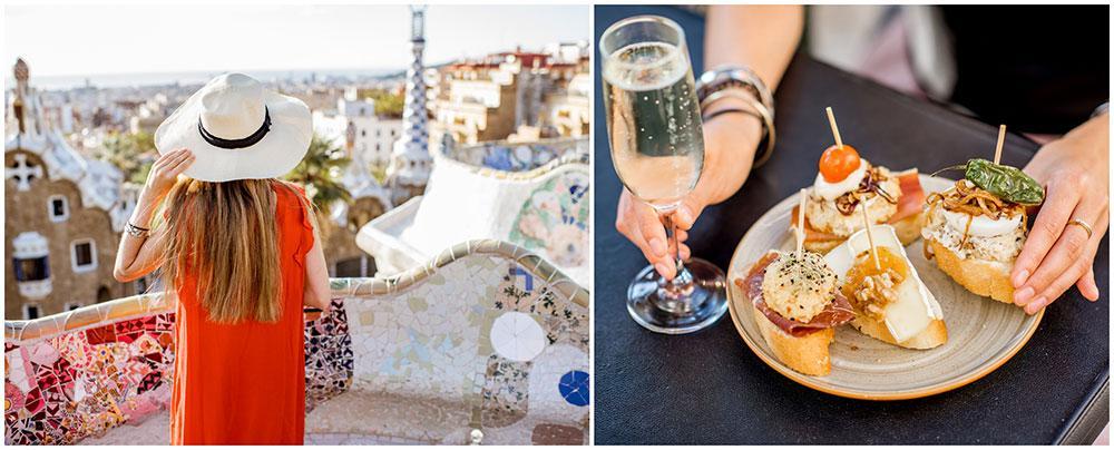 Barcelona är en kokande kittel av kutlur, mat, härliga människor och shopping.