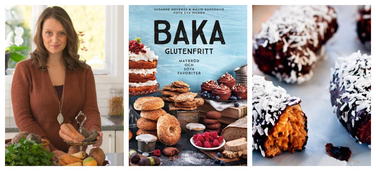 Matkreatören Malin Randneiye har skrivit kokboken Baka Glutenfritt – Matbröd och söta favoriter.