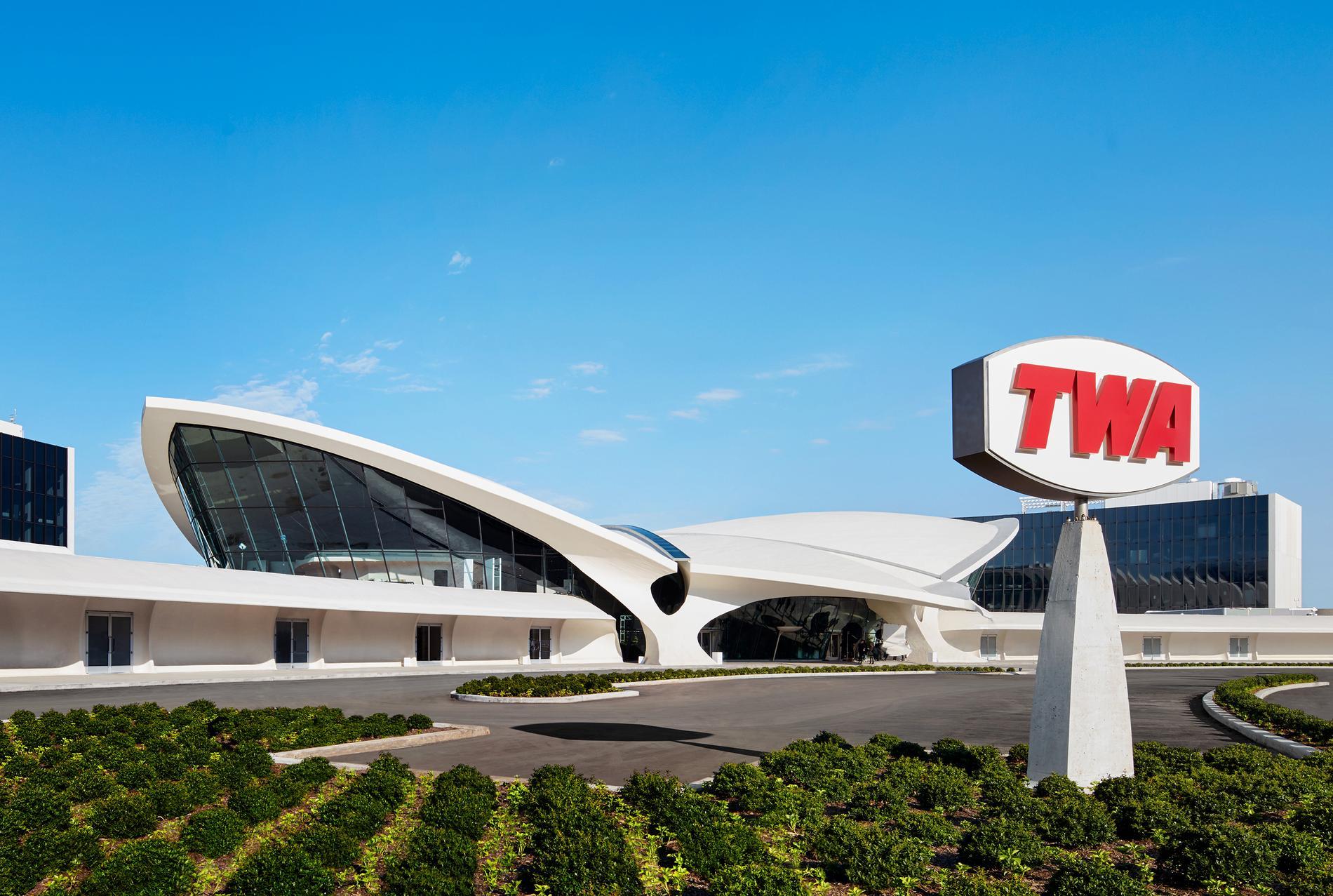 TWA hotel för besökarna tillbaka till 60-talet.