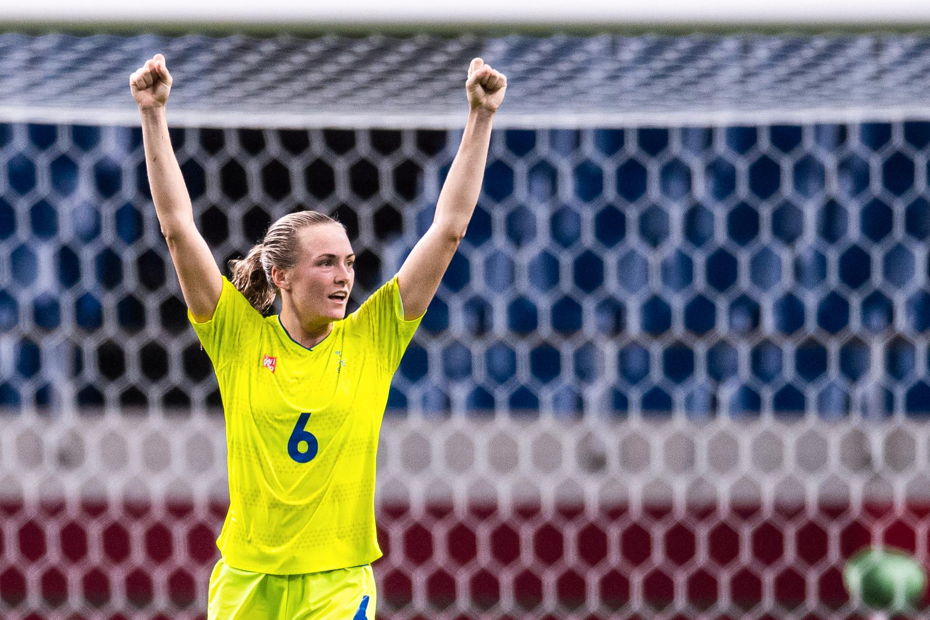 Magdalena Eriksson.