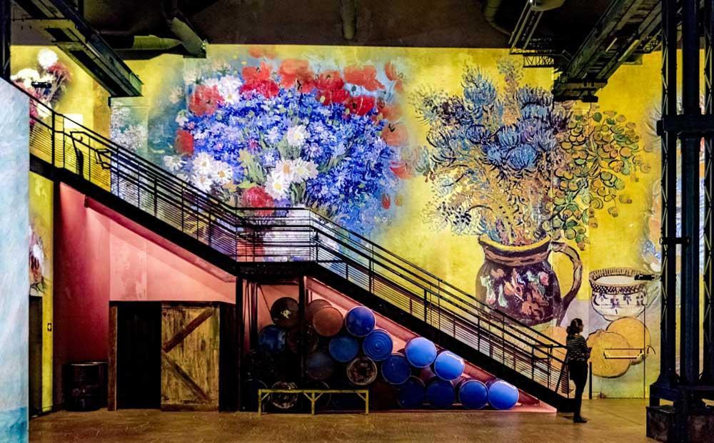 Kliv in i Van Goghs konstverk i Paris.