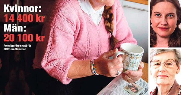 Det är inte rimligt att pensionen efter ett helt yrkesliv blir så låg för kommunalarbetaren att den knappt går att leva på, skriver Maja Fjaestad och Berit  Bölander.