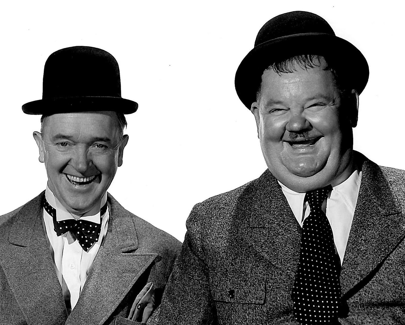 Verklighetens Laurel and Hardy.