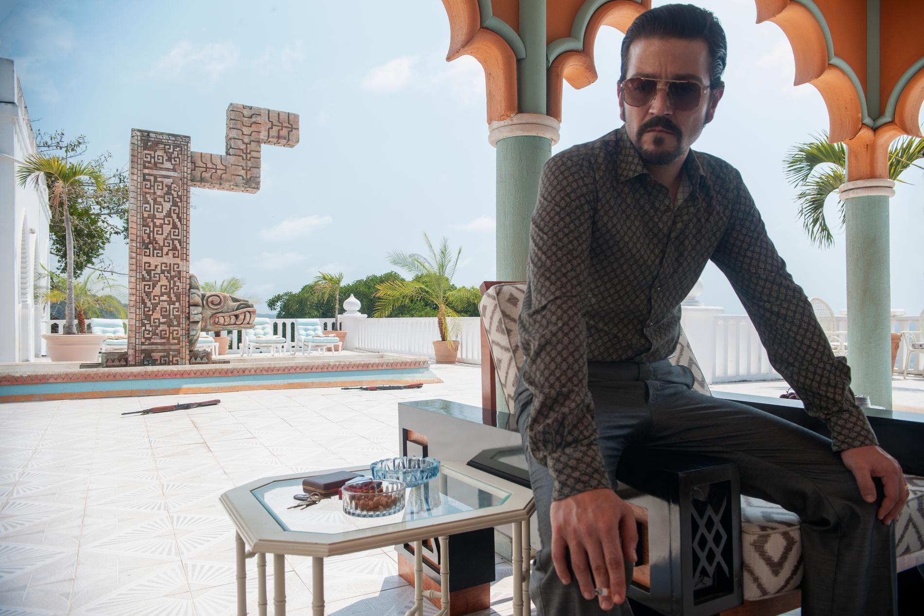 """Diego Luna i """"Narcos: Mexico""""."""