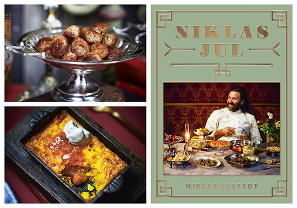 "Recept ur boken ""Niklas Jul"" (Triumf förlag). Foto: Heléne Pe, Wolfgang Kleinschmidt."