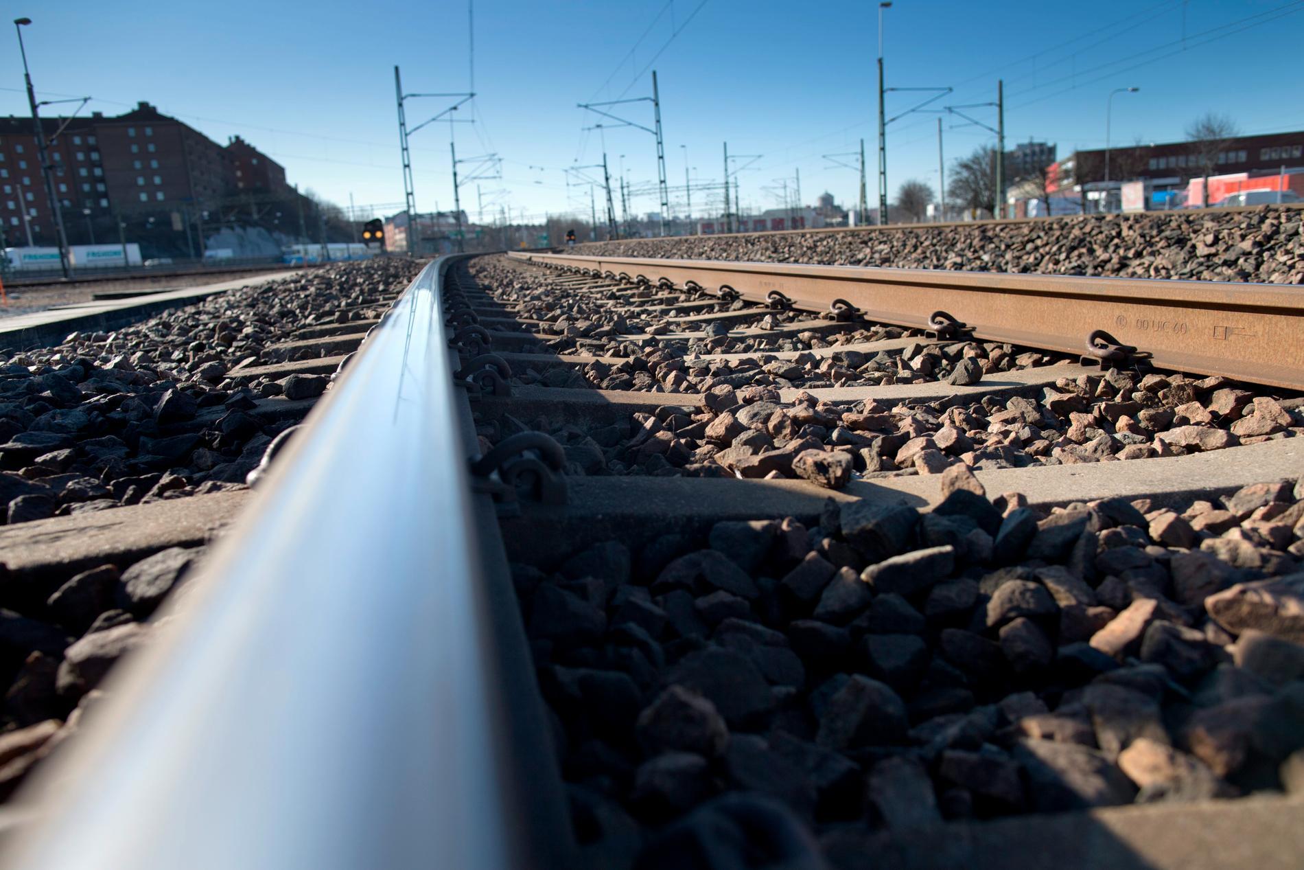 Problemen med kopparstölder vid järnvägar fortsätter. Arkivbild.