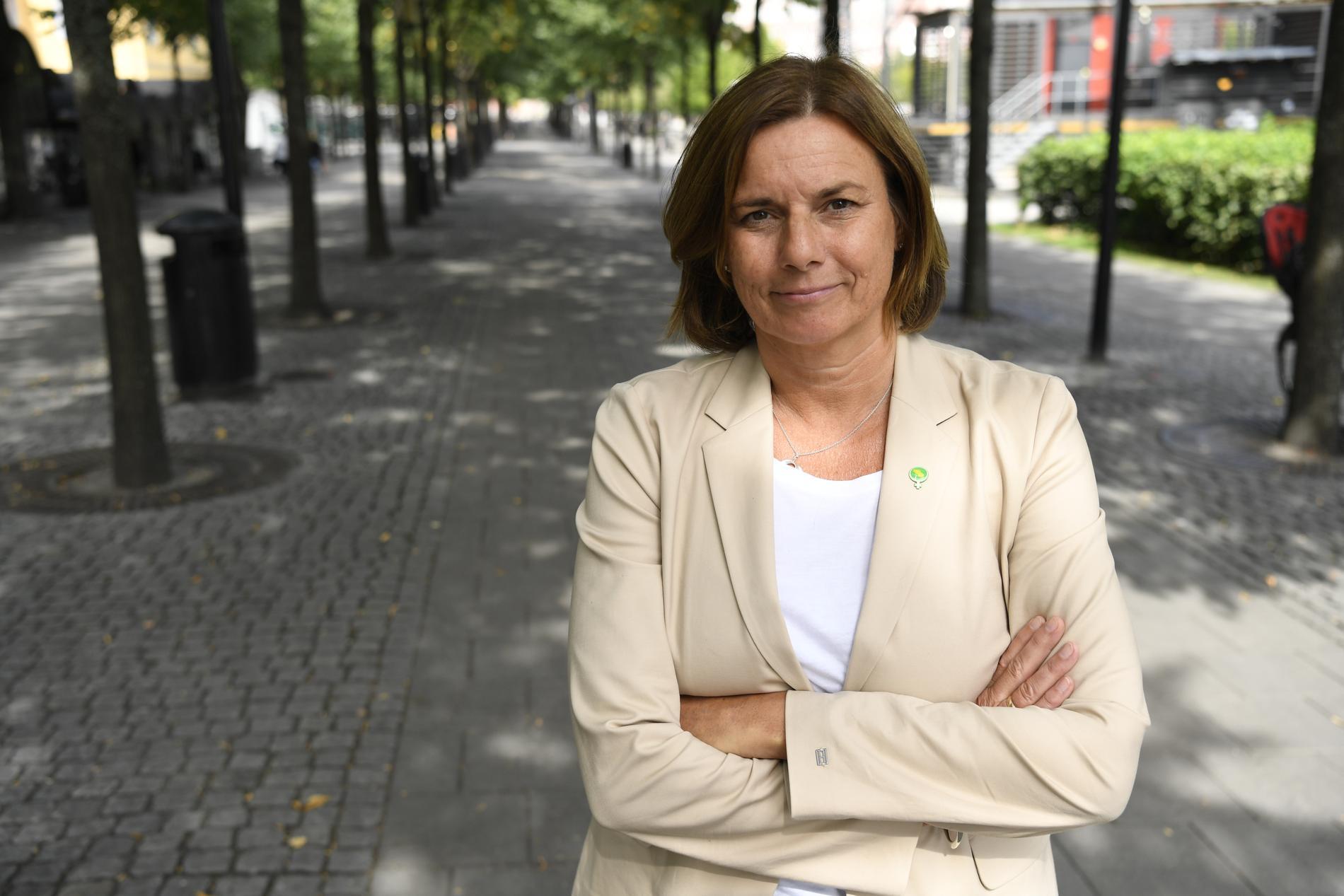 Isabella Lövin om varför hon slutar med politik