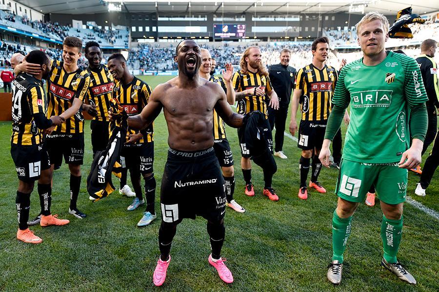 Häcken vann Svenska Cupen 2016 efter straffavgörande mot Malmö FF