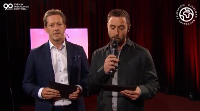Jonas Björkman och Måns Zelmerlöw.
