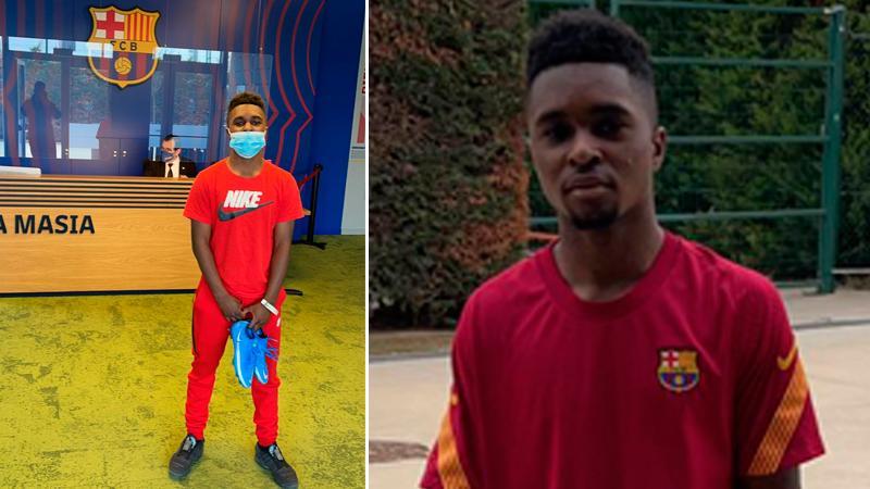 Jardell Kanga spenderade en vecka i Barcelona.