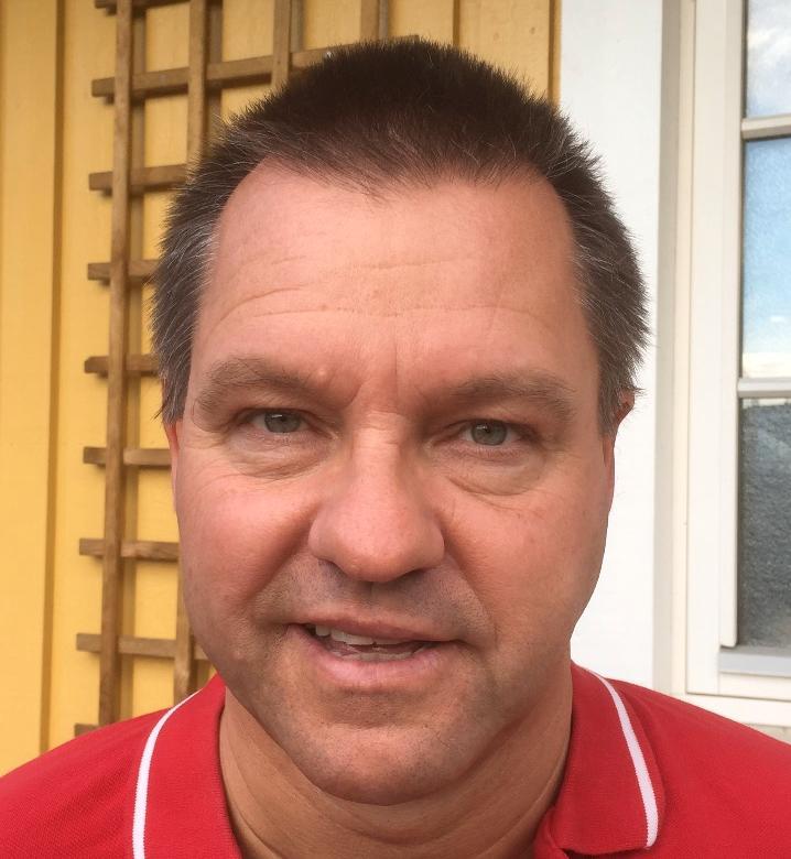 Björn Ericsson, 54, träffade sälen.