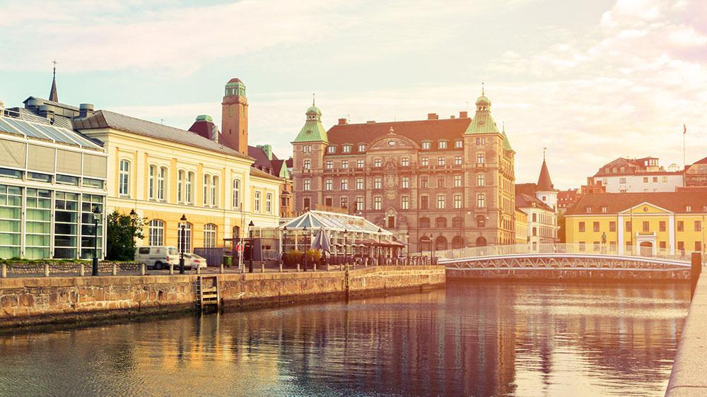 Res till Malmö istället för Berlin.