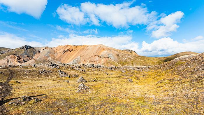 Häftiga vyer på Island – vandra bland vulkaner.