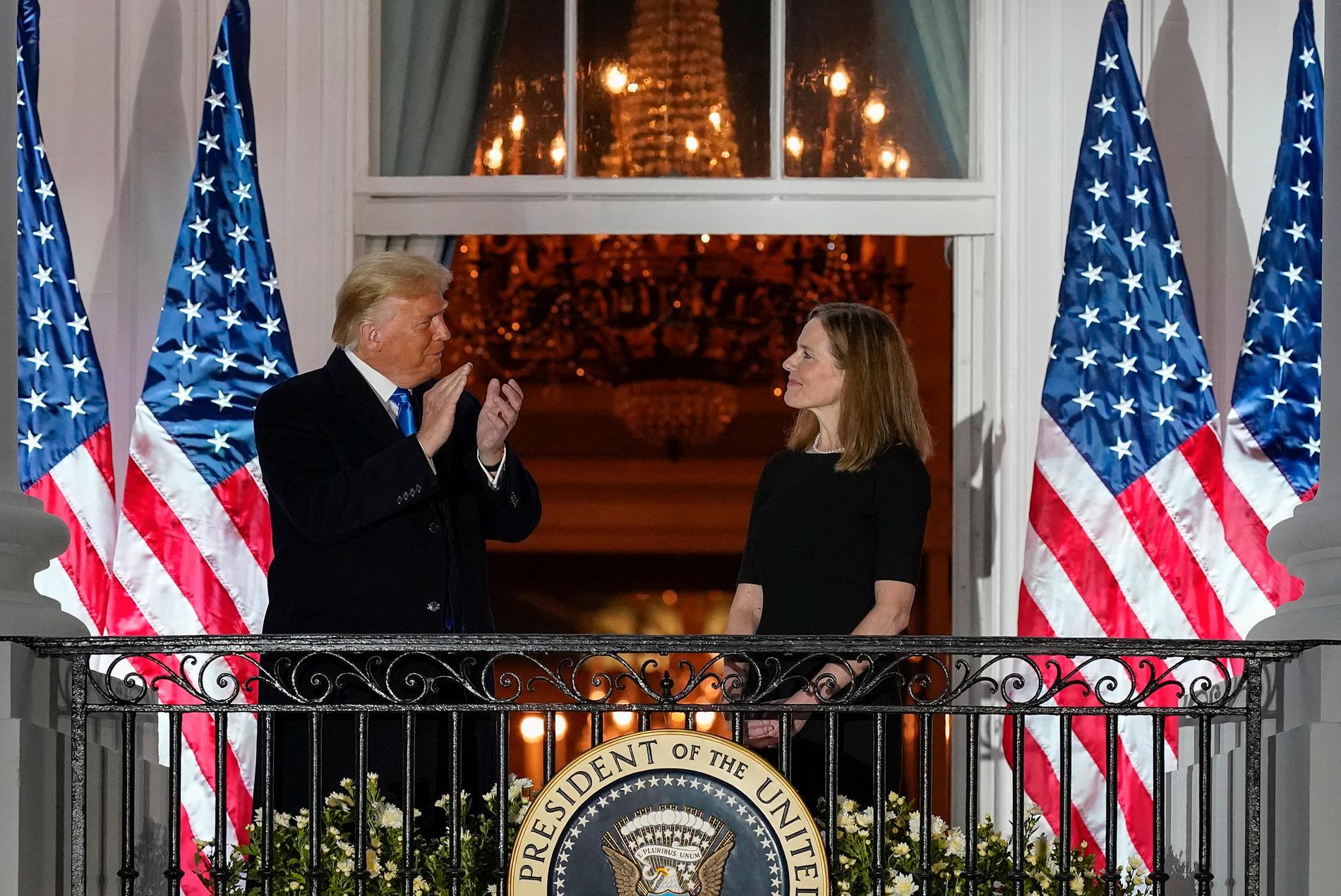 Donald Trump och senaten har satt en abortmotståndare i amerikanska Högsta domstolen.