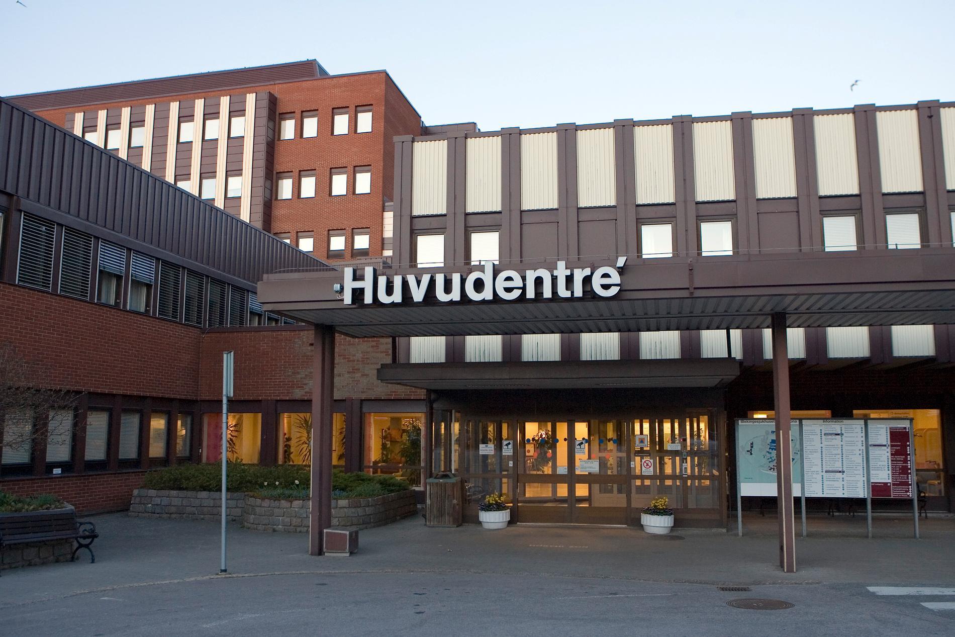 Sjukhuset i Karlskrona.