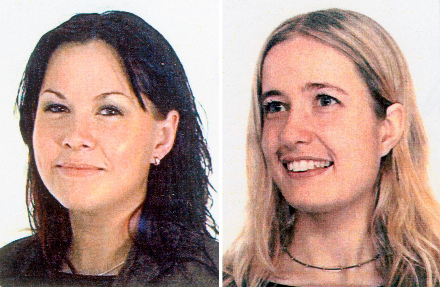Alexandra Fossmo och Sara Svensson.