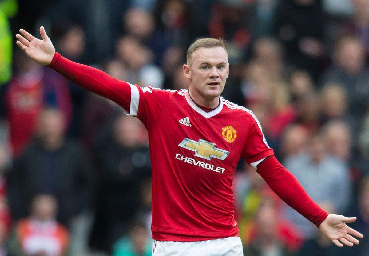 Wayne Rooney.