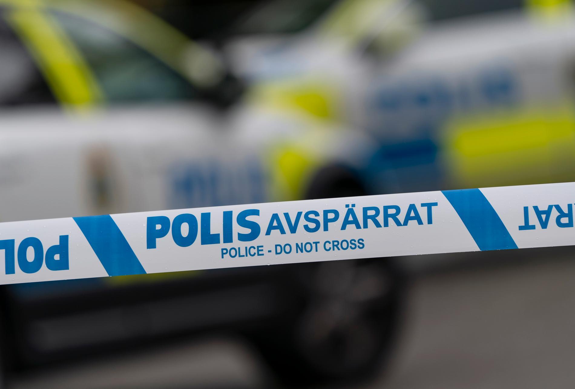 En man skottskadades i Gottsunda i Uppsala under fredagskvällen. Arkivbild.