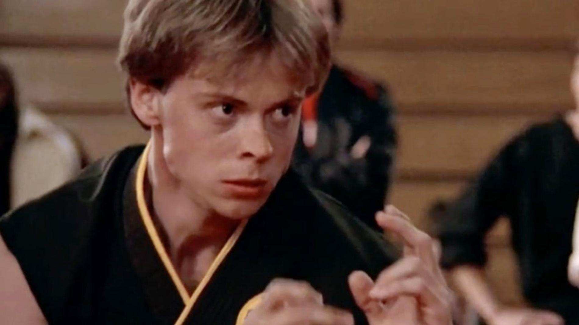Robert Garrison i Karate Kid.