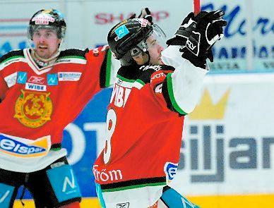 Lindströms första mål sen SM-finalen.