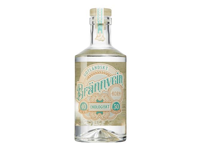 Gotland whisky Brännvein.