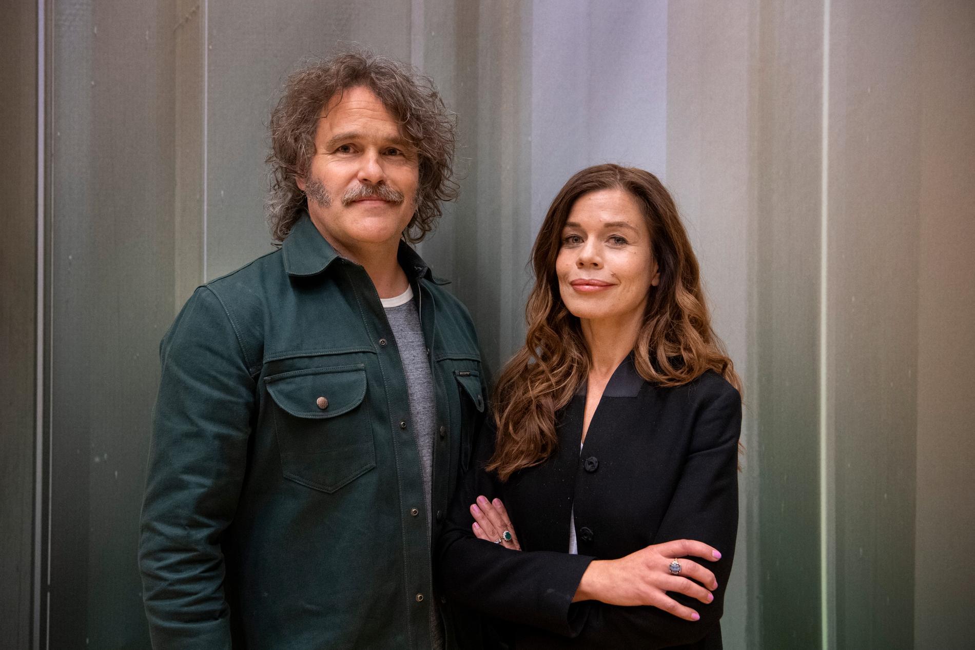 Erik Haag och Lotta Lundgren är aktuella med två nya program i TV4 i höst. Arkivbild.