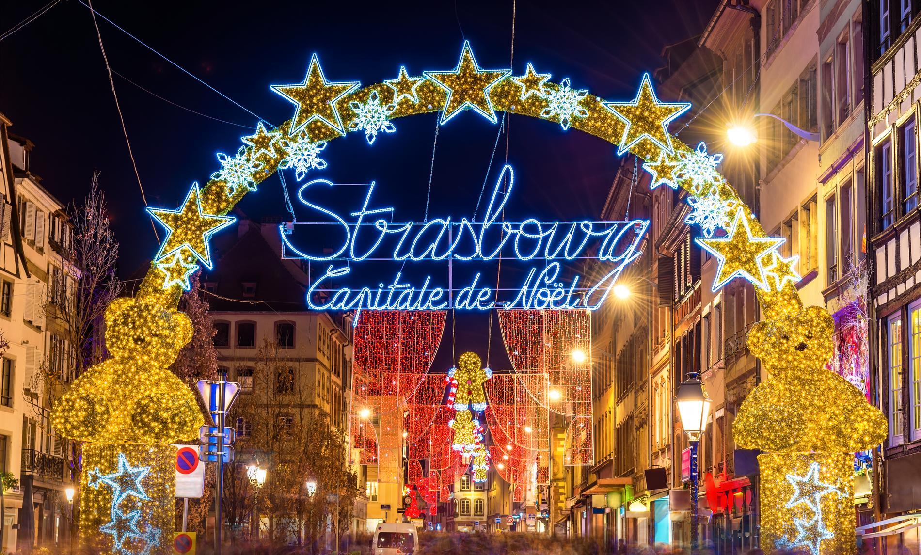 Strasbourg kallas för julens huvudstad.