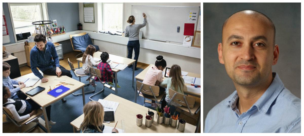 Läraren Daniel Yalin tycker att föräldrar smiter från sitt ansvar – att lära barnen hyfs.
