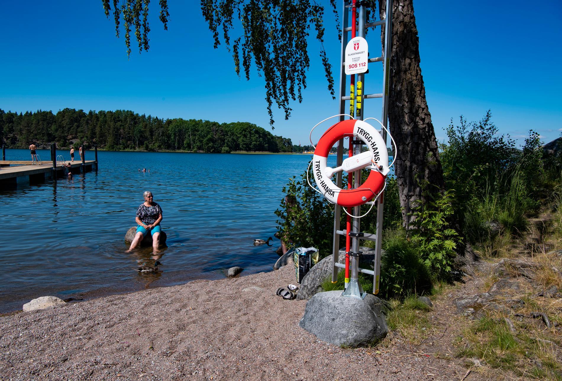 Ansvariga på Botkyrka kommun tror inte att det är en bra idé att anlita nya badvakter.