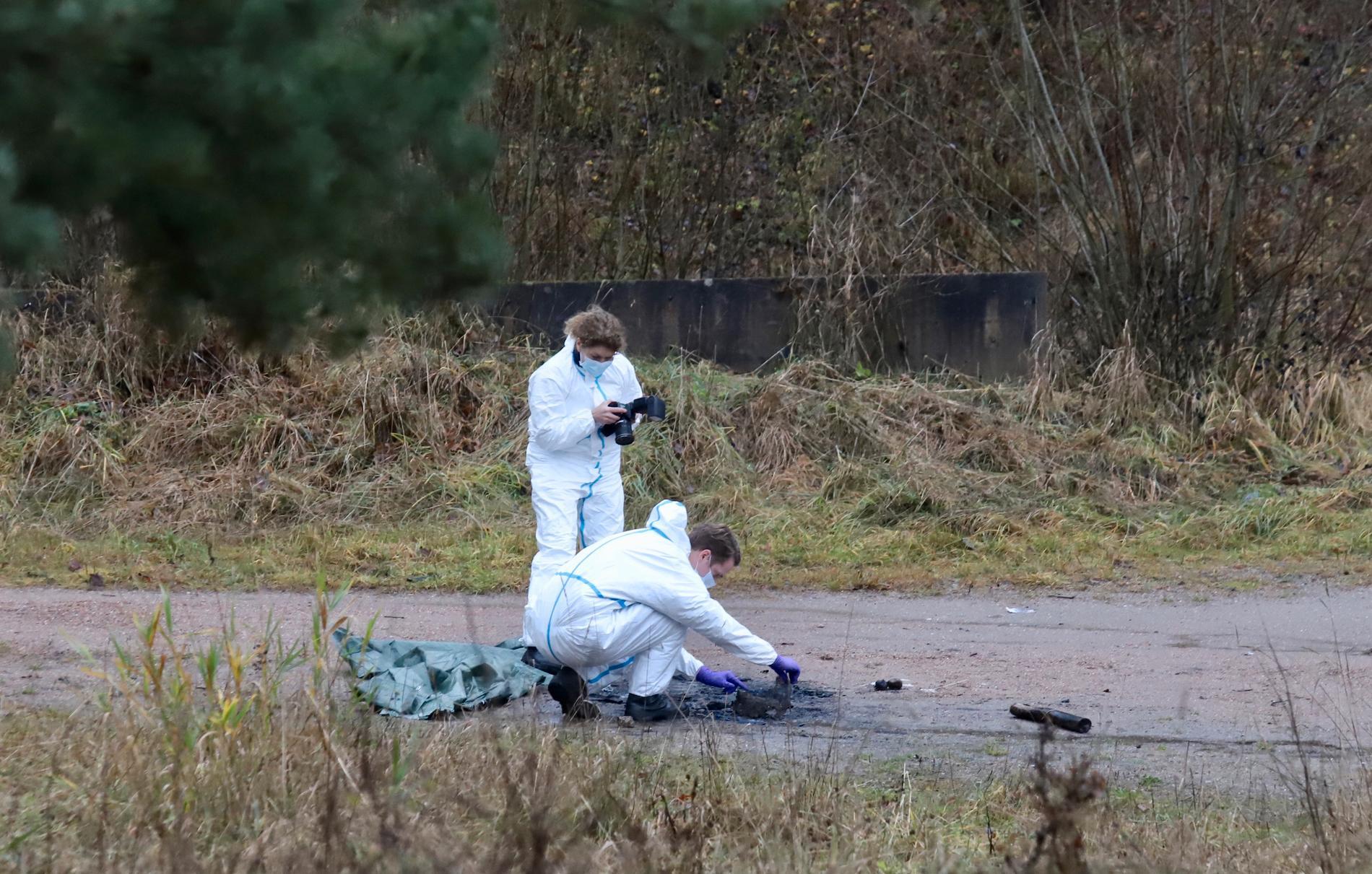Polisen har gjort flera fynd under den intensiva sökinsatsen efter försvunna Wilma, 17.