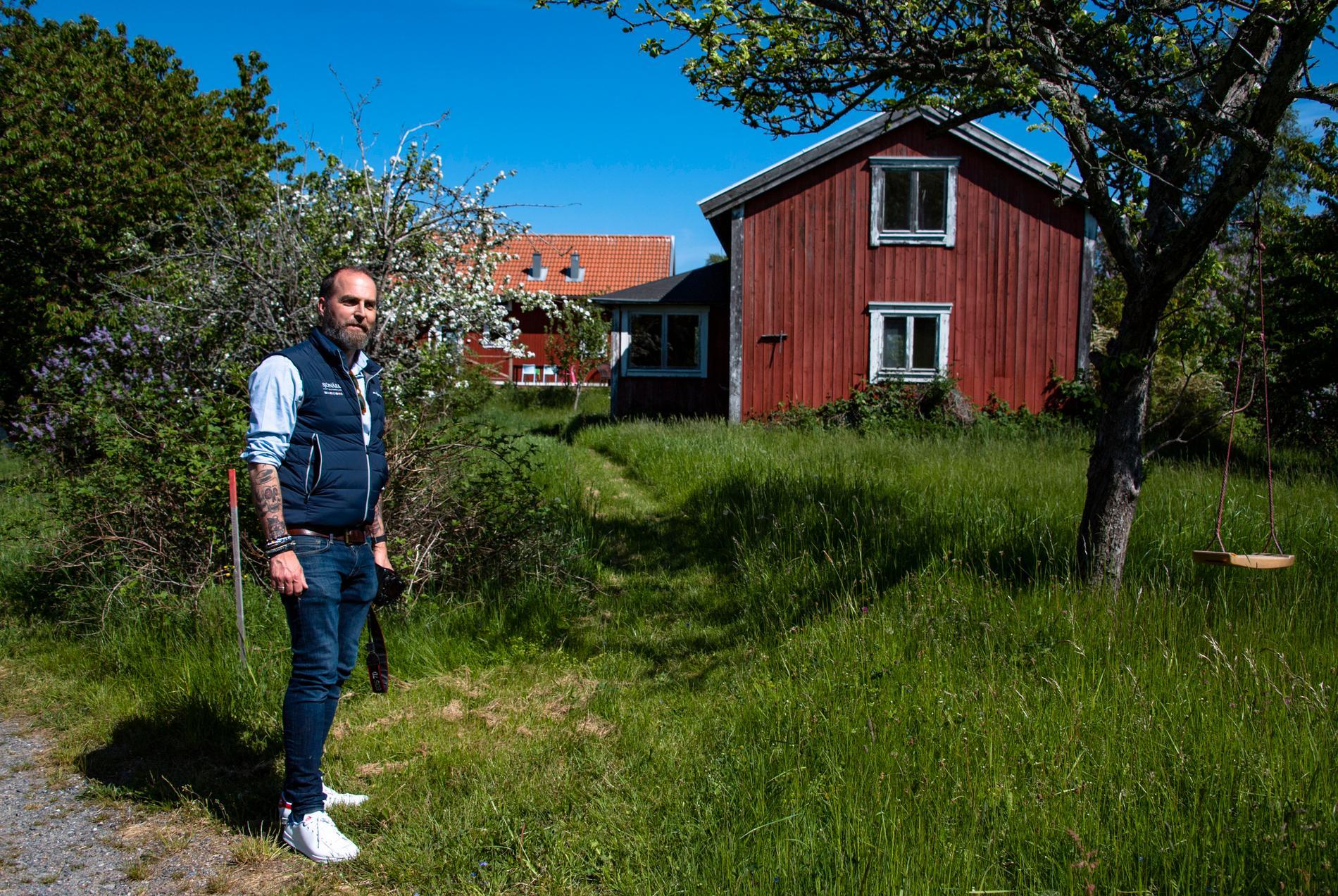 """""""Saltkråkan-effekten"""" på Norröra har avtagit senaste åren, enligt Johan Vogel. """"De som är lite yngre än mig har nog inte samma upplevelse av alla Astrid Lindgrens verk""""."""