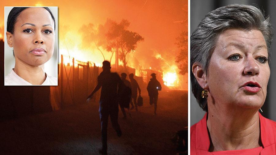 Nu är det upp till Sveriges EU-kommissionär att leverera. Våra förväntningar är höga på de förslag om europeisk asyl- och migrationspolitik som Ylva Johansson snart ska presentera. Och det är inte bara bråttom nu – det brinner, skriver Alice Bah Kuhnke.