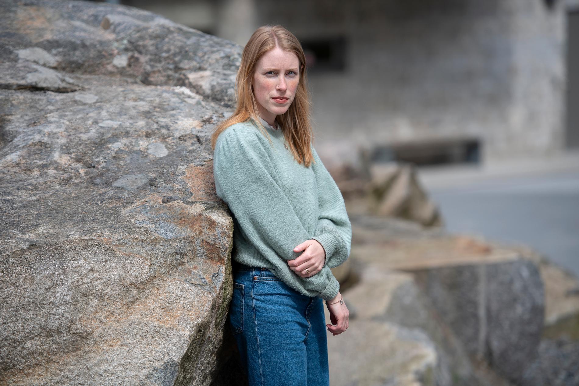 """""""Lärarna hade ett hemskt bemötande"""", säger Agnes Scott om tiden som elev på Martinskolan i Hökarängen."""