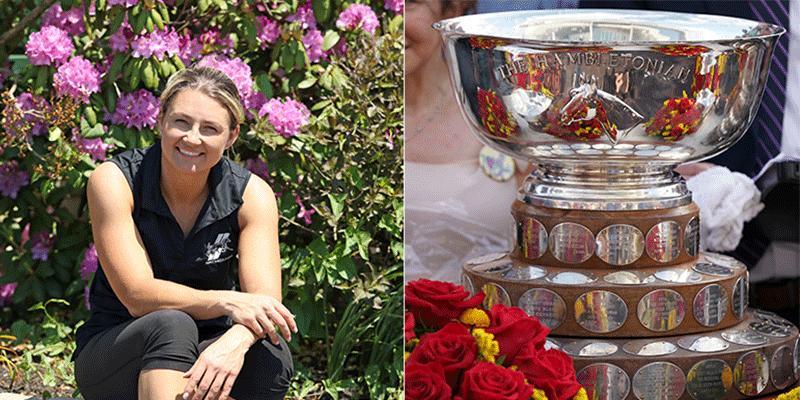 40-åriga proffstränaren, Nancy Takter, är ute efter sin första seger i Hambletonian Stakes.