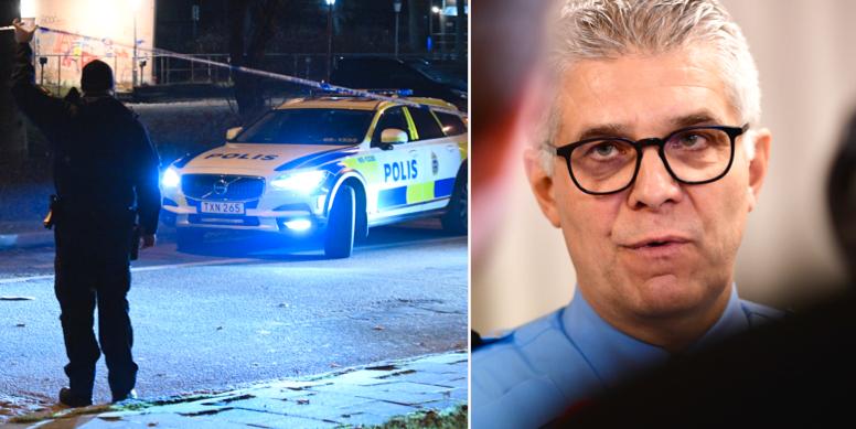 Polisinsats i Malmö/Anders Thornberg.