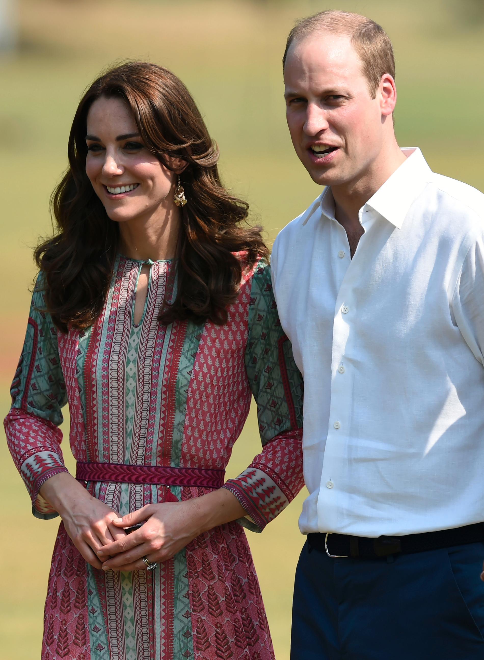 Kate och William.